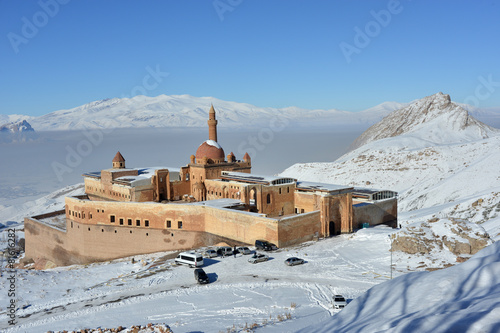 Fotografie, Obraz  Ishak Pasha Palace - morning view