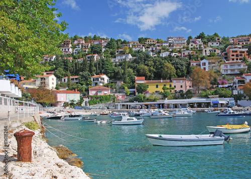 Photo Urlaubs-und Badeort Rabac in Istrien an der Adria