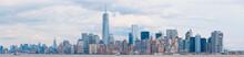 Lower Mahattan View In New York.