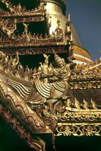 Statue, Wat Phra Kaeo Don Tao Temple In Lampang, North Thailand