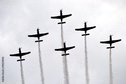 Fotografija  Planes - formation