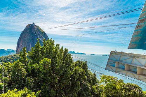 The Sugarloaf Mountain in Rio de Janeiro, Brazil Poster