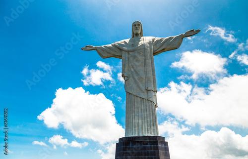 Foto op Canvas Rio de Janeiro Christ the Redeemer in Rio de Janeiro, Brazil.