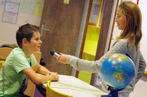 Fotografie, Obraz  éducation aux médias et à l'information - interview