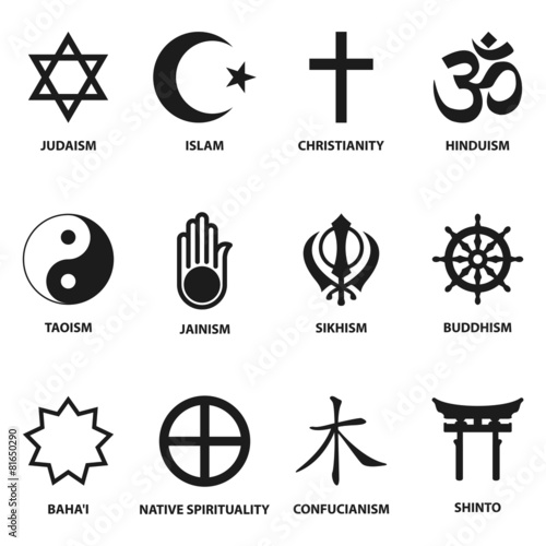 Religious Sign And Symbols Buy This Stock Vector And Explore