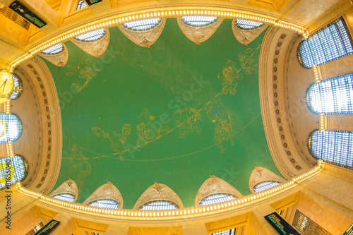 NEW YORK CITY - MAY 20, 2013: Interior of Grand Central Terminal Canvas Print