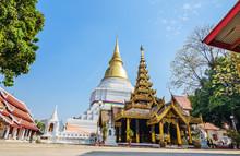 LAMPANG, THAILAND - FEBRUARY 22, 2015 : Wat Phra Kaew Don Tao Te