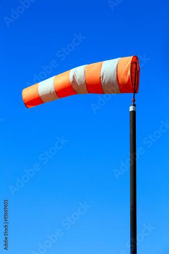 Foto op Canvas Luchtsport windsock against the sky