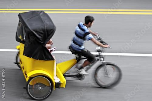 Fotografie, Obraz  alternative ecological clean transport