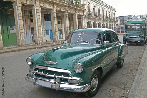 Türaufkleber Autos aus Kuba Havanna, Oldtimer