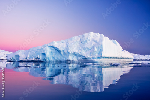Canvas Prints Glaciers Antarctic Glacier