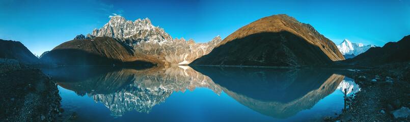 Panel Szklany Góry Beautiful mountain landscape