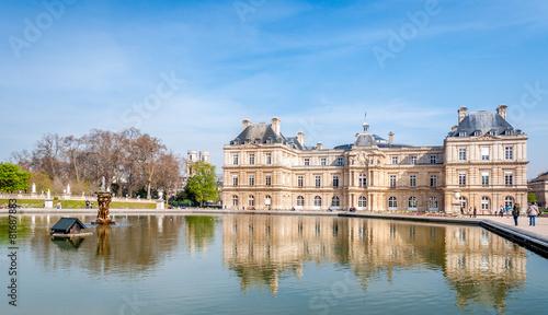 Papiers peints Jardin Sénat et Jardin du Luxembourg