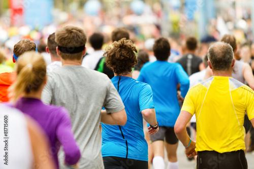 Foto  Zieleinlauf beim Marathon