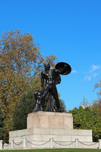 Wellington Monument Achilles Statues - London