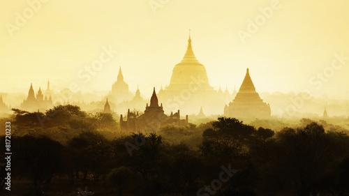 Photo  The Temples of Bagan, Mandalay, Myanmar, Burma