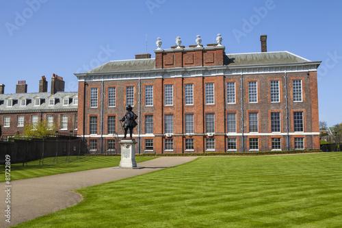 Photo  Kensington Palace in London
