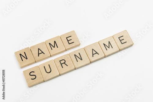 Fotografía  nome e cognome