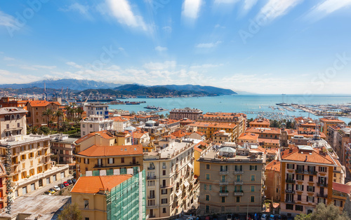 Photo sur Toile Cappuccino La Spezia Italia - Panorama