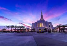 Mormon Temple In Gilbert Arizona