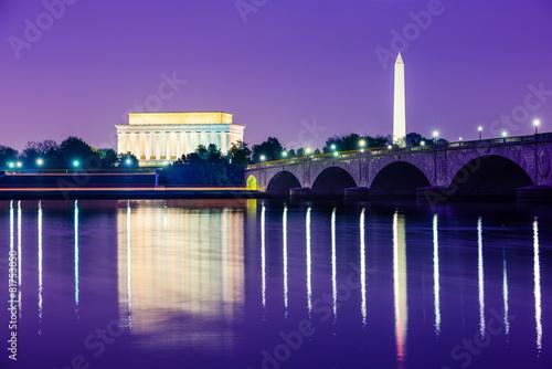 Fotomural  Washington, D.C. Monuments
