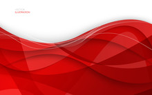 Abstract Red Background. Vecto...