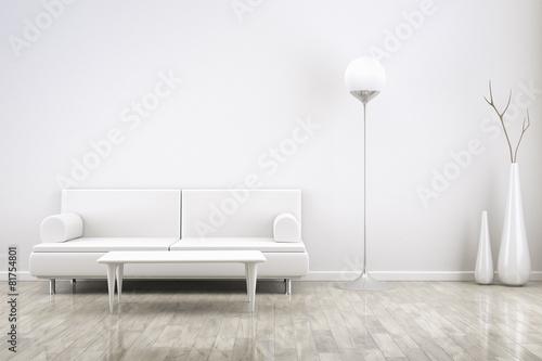 Fotografie, Tablou  room and sofa