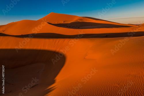 Papiers peints Maroc Sand Dunes in Morocco Desert