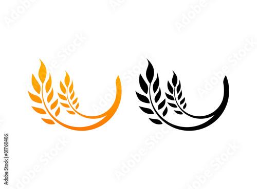 Obraz Ears of Wheat, Icons - fototapety do salonu