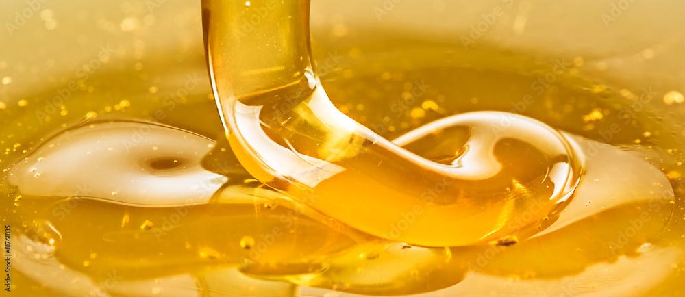 Fototapety, obrazy: Golden honey