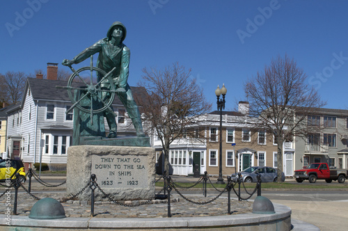 Photo  Gloucester MA Fishermens Memorial