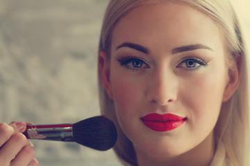 Fototapeta Do salonu kosmetycznego makeup