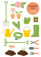 Isolated Spring Gardening Tool...