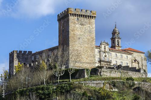 Castle of the Counts of lemos in Monforte de Lemos