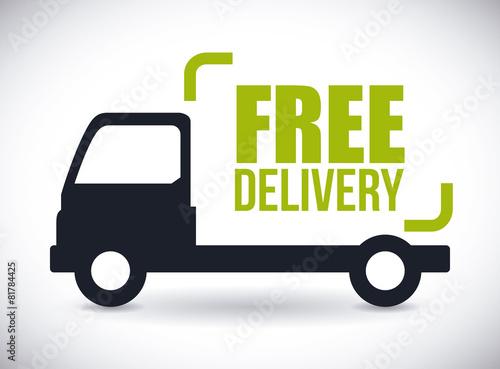 Fotografie, Obraz  Delivery design.