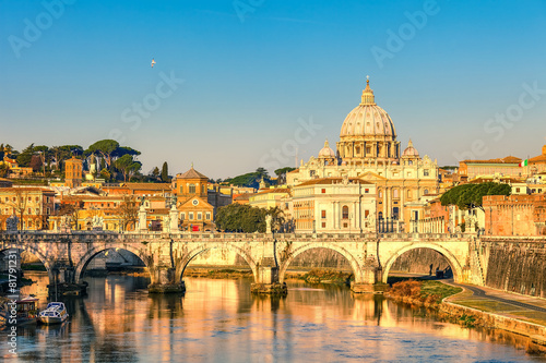 St. Peter's cathedral in Rome Canvas