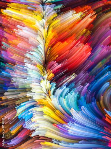 Fototapeta Elements of Color obraz na płótnie