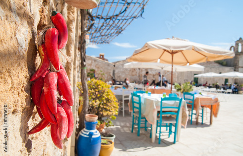 Fotografía  Mediterranean fishing village