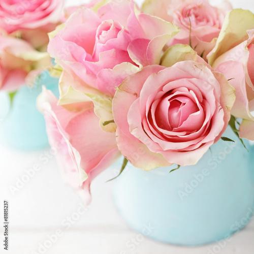 Obraz na plátně  flowers in a vase