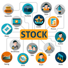 Photo And Vector Stock Concept