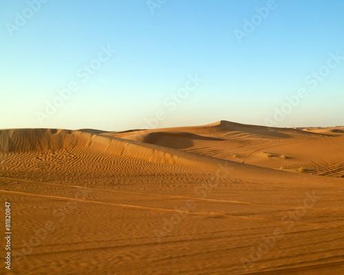 Fotobehang Midden Oosten Arabian Desert Dubai