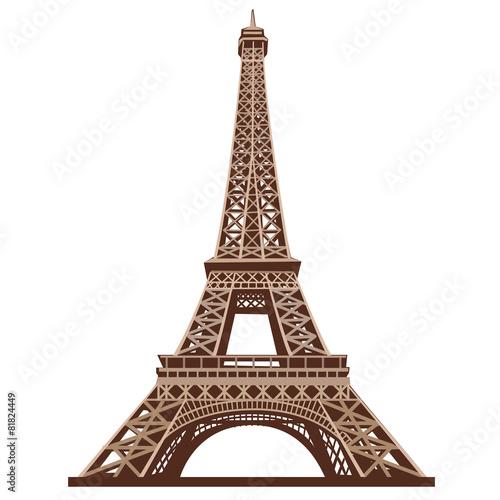 Obraz eifel tower - fototapety do salonu