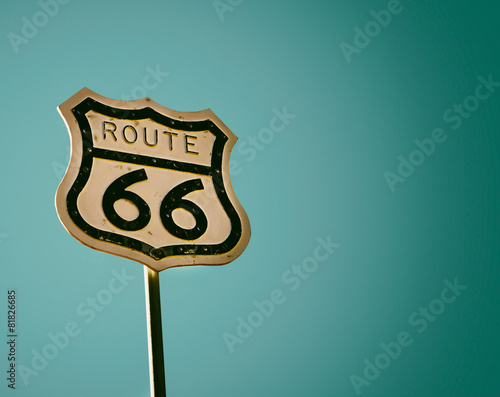 Photo sur Aluminium Route 66 Route 66 American historic highway