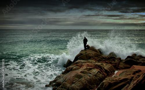 Photo  En las rocas