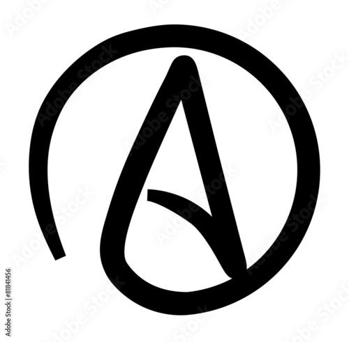 Atheism Canvas Print
