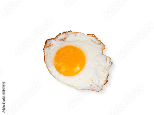 Papiers peints Ouf Egg isolated on white background