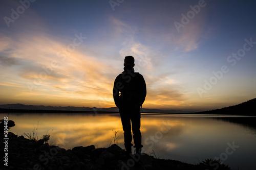 Fotografie, Obraz  her yeni gün bir umut&şafak vakti