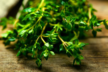 Bunch Of A Fresh Thyme