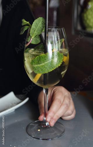 Photo prosecco aperitif