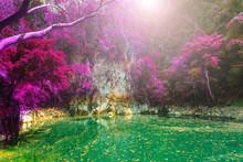 Wonderful Crater Lagoon In Tha...